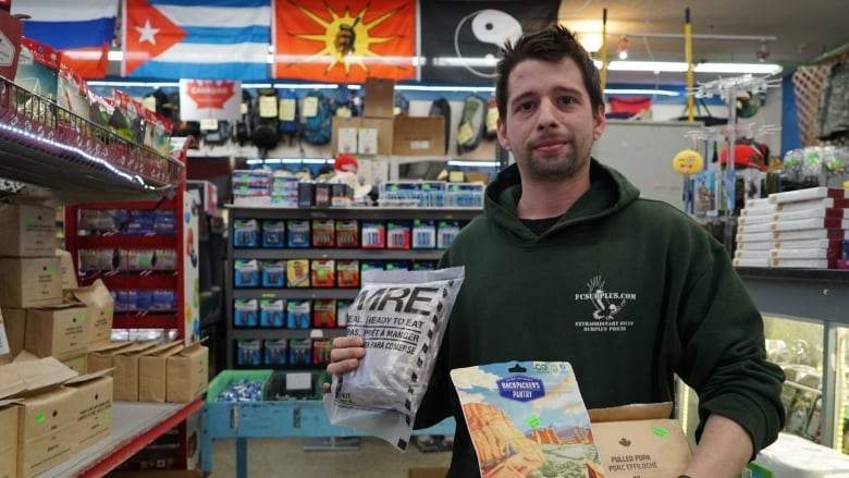 Doomsday Preppers Having Their Day As City Survival Food Sales