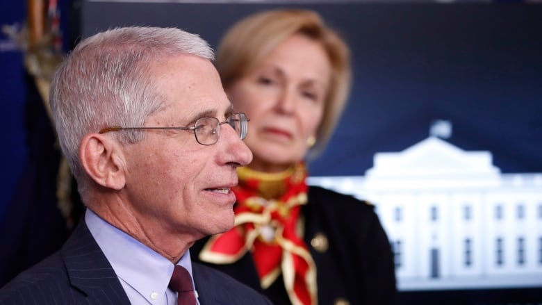 Coronavirus: US reopening could start 'in some ways' in May, says Fauci
