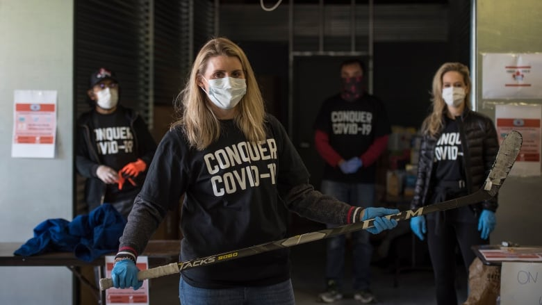 Hayley Wickenheiser Begins Personal Protective Equipment Drive In Toronto Cbc Sports