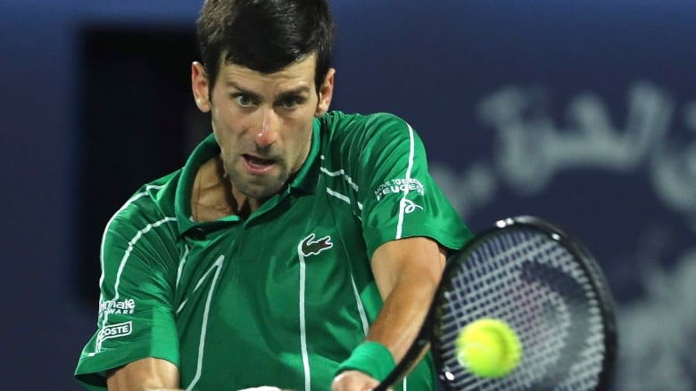 Novak Djokovic Proposes 4 5m Us Fund For Lower Ranked Tennis Players Report Cbc Sports