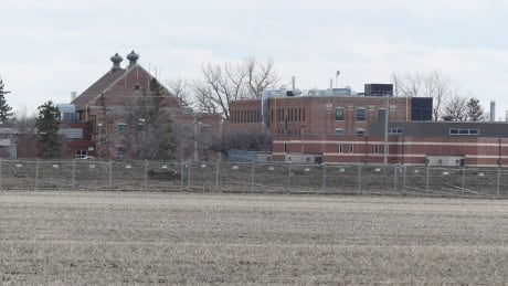 Shots of the prison in Headingley Correctional Centre