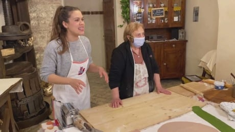 Italian nonna finds inventive way to get pasta lessons out to the world