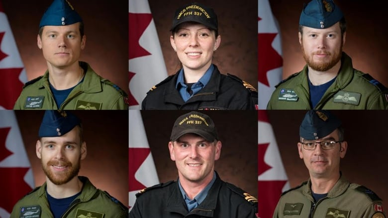 1 dead, 5 missing in Canadian military helicopter crash during ...