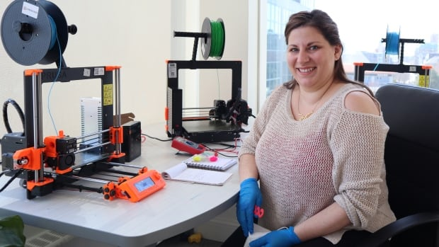 Mi'kmaw technology educators shift 3D printers to producing face shields