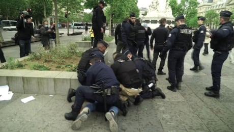 May Day 2020 brings protests, arrests and little physical distancing