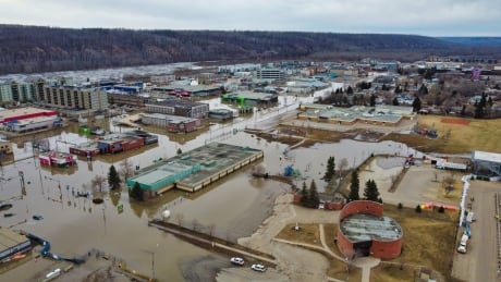 Fort McMurray Flooding - Drone Shots