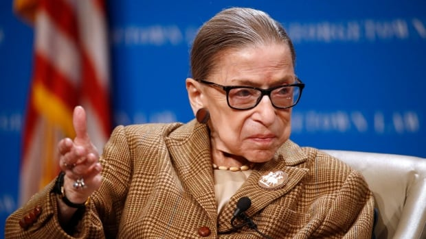 U.S. Supreme Court says Justice Ruth Bader Ginsburg hospitalized with possible infection   CBC News