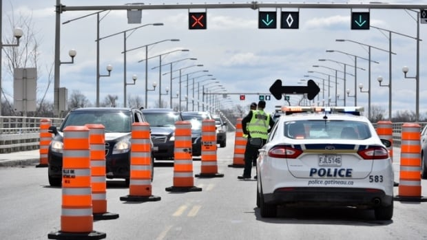 Checkpoints to return to Ottawa-Gatineau border Monday | CBC News