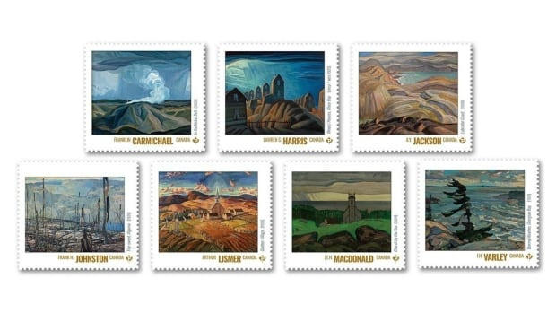New stamps, digital project mark centenary of Group of Seven's debut
