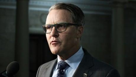 Manitoba Health Minister Cameron Friesen