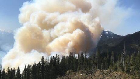 Kitimat wildfire