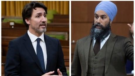 Justin Trudeau Jagmeet Singh