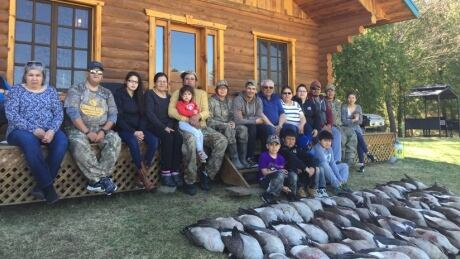 Bob Patton and Cree hunters