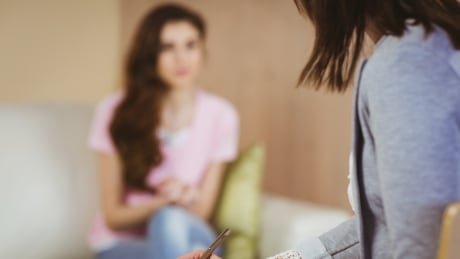 Counselling therapy stock image