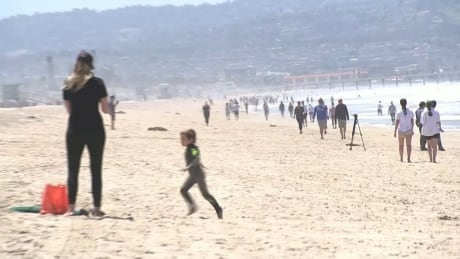 Beaches open in California as governor relaxes stay-at-home order