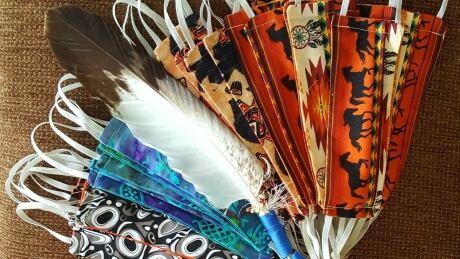face-masks-Indigenous-patterns