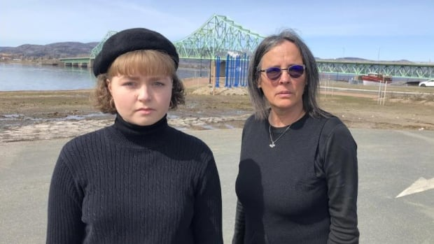 Gaspé family prevented from attending loved one's burial next door in New Brunswick | CBC News