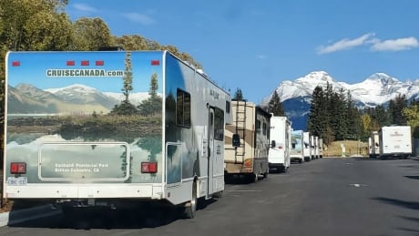 Banff RVs camping