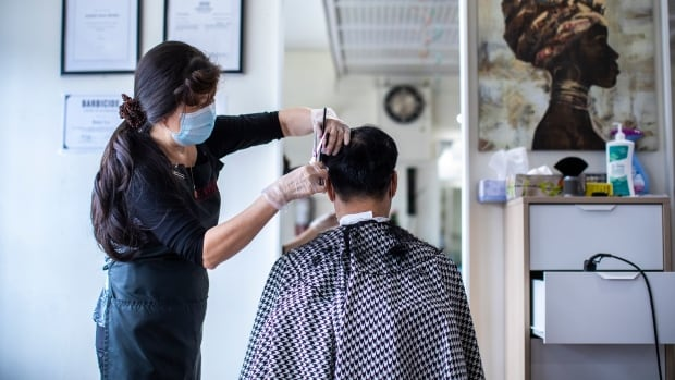 Hairdressers feeling cut off as state of emergency extended | CBC News