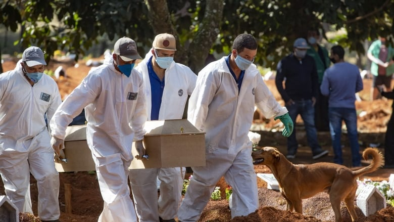 Global coronavirus cases surpass 5 million, infections rising in South America