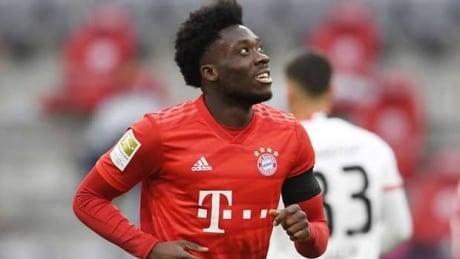 Davies shines in Bayern's win over Frankfurt