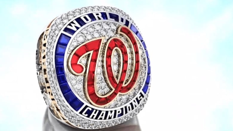 Nationals' WS rings replete with homage to 'Baby Shark'