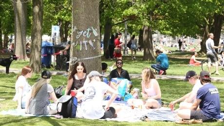 Trinity Bellwoods Park on Saturday, Toronto