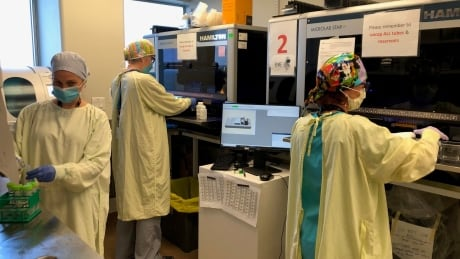 <div>London's PaLM lab passes 1-million COVID-19 test milestone</div>