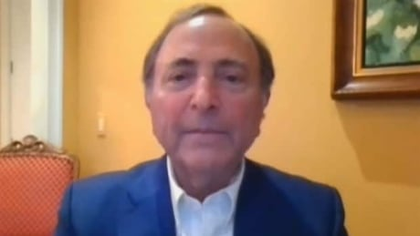 Gary Bettman's returnto play announcement...in 2 minutes