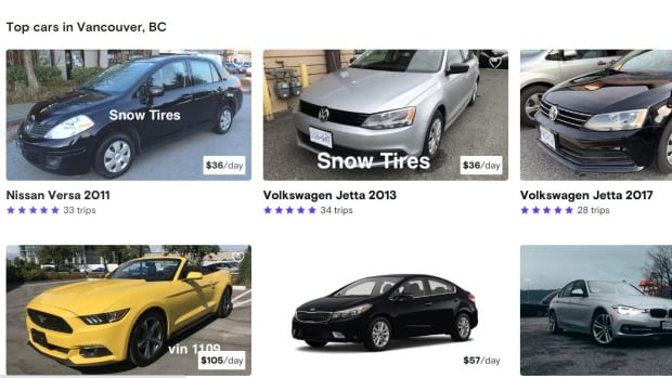 Turo car-sharing company expected to launch in B.C. in weeks