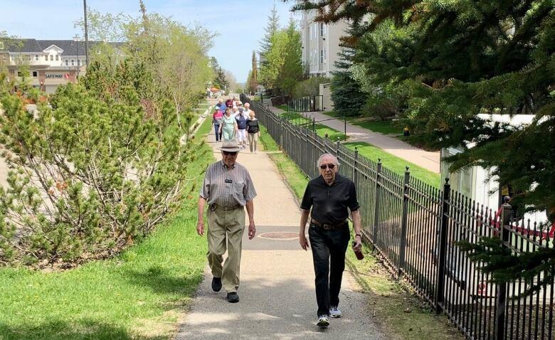 COVID-19 has Calgary seniors walking around province, across country but virtually