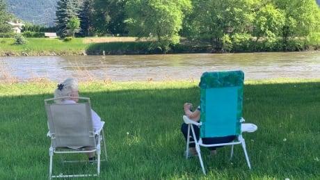 Grand Forks river