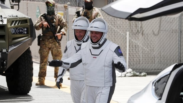 SpaceX, NASA to try again for launch of 2 astronauts from Florida