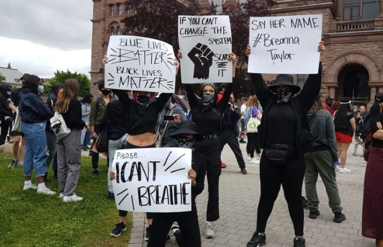 Thousands rally in Toronto against anti-black, anti-Indigenous racism