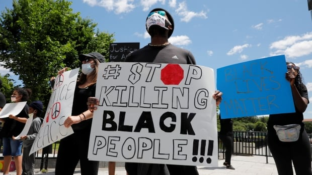Protests, anger over police killings sparked by George Floyd's death sweep U.S.