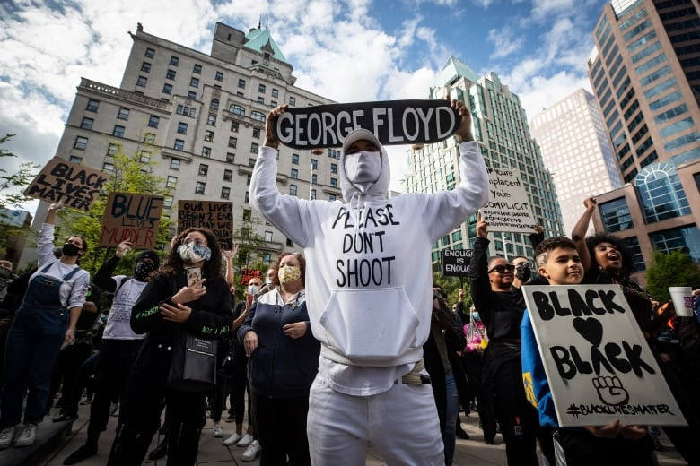 Thousands in Vancouver rally against police violence as George Floyd protests shake U.S.