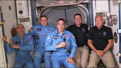 NASA astronauts ISS