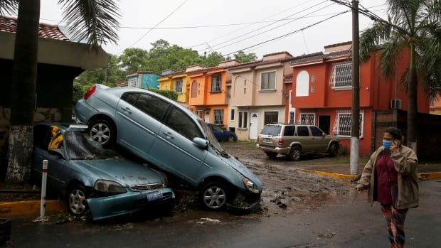 Tropical storm Amanda kills at least 17 in Central America | CBC News