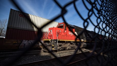 CN Rail Grain 20200507