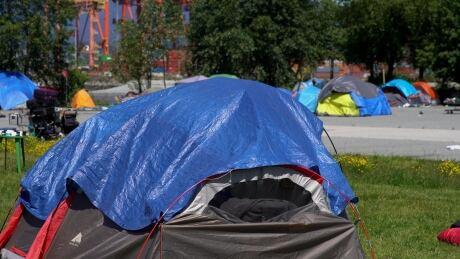 Crab Park tent 1