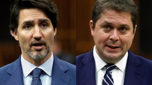 Scheer lays out line of questioning for Trudeau's appearance at finance committee | CBC News