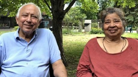 Frank Peres and Doris Peres