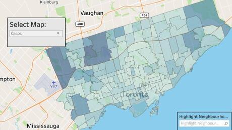 Toronto map June 3