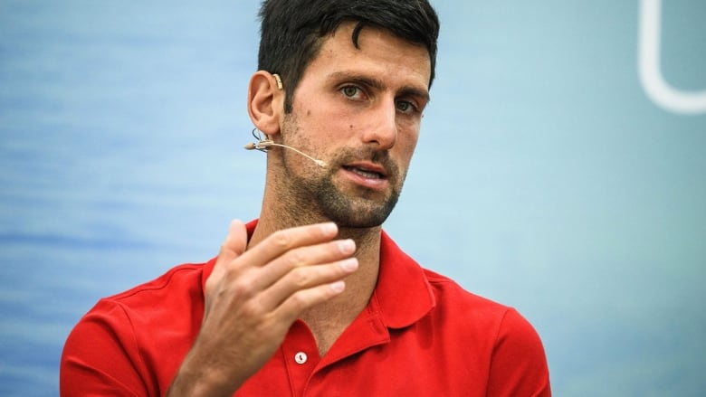 Novak Djokovic Calls U S Open Restrictions Extreme Impossible Cbc Sports