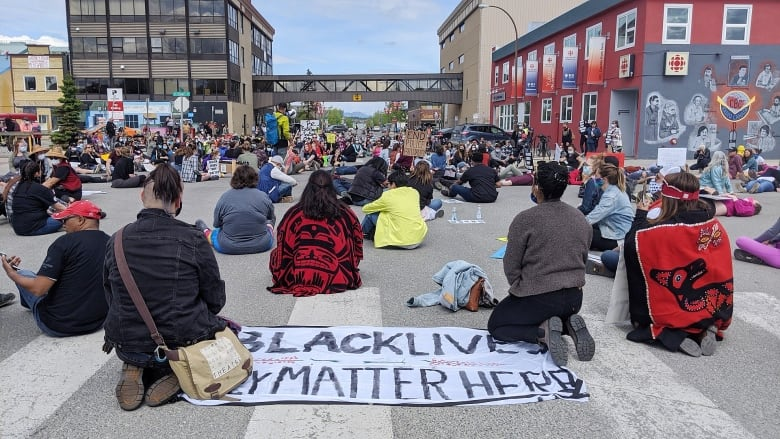 Anti-black racism protests, vigils take place across Canada