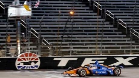 Scott Dixon victorious as Indycar action returns with no fans