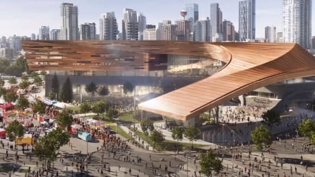 BMO Centre expansion images