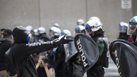 Montreal Black Lives Matter protest