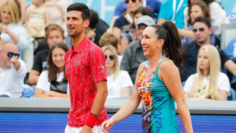 Novak Djokovic Defends Packed Stands At Tennis Event In Serbia Cbc Sports