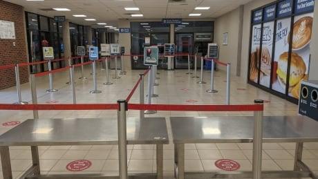 Charlottetown airport COVID-19
